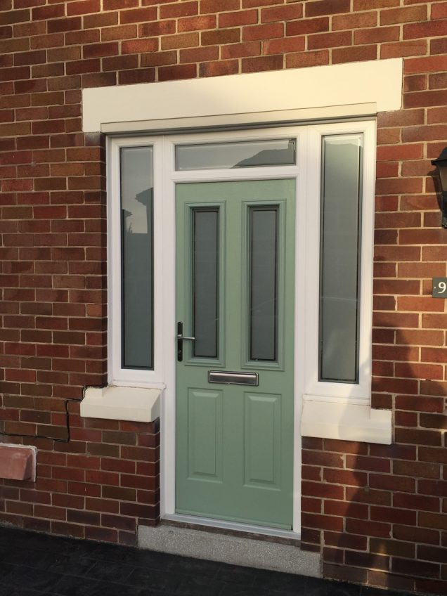 composite front doors