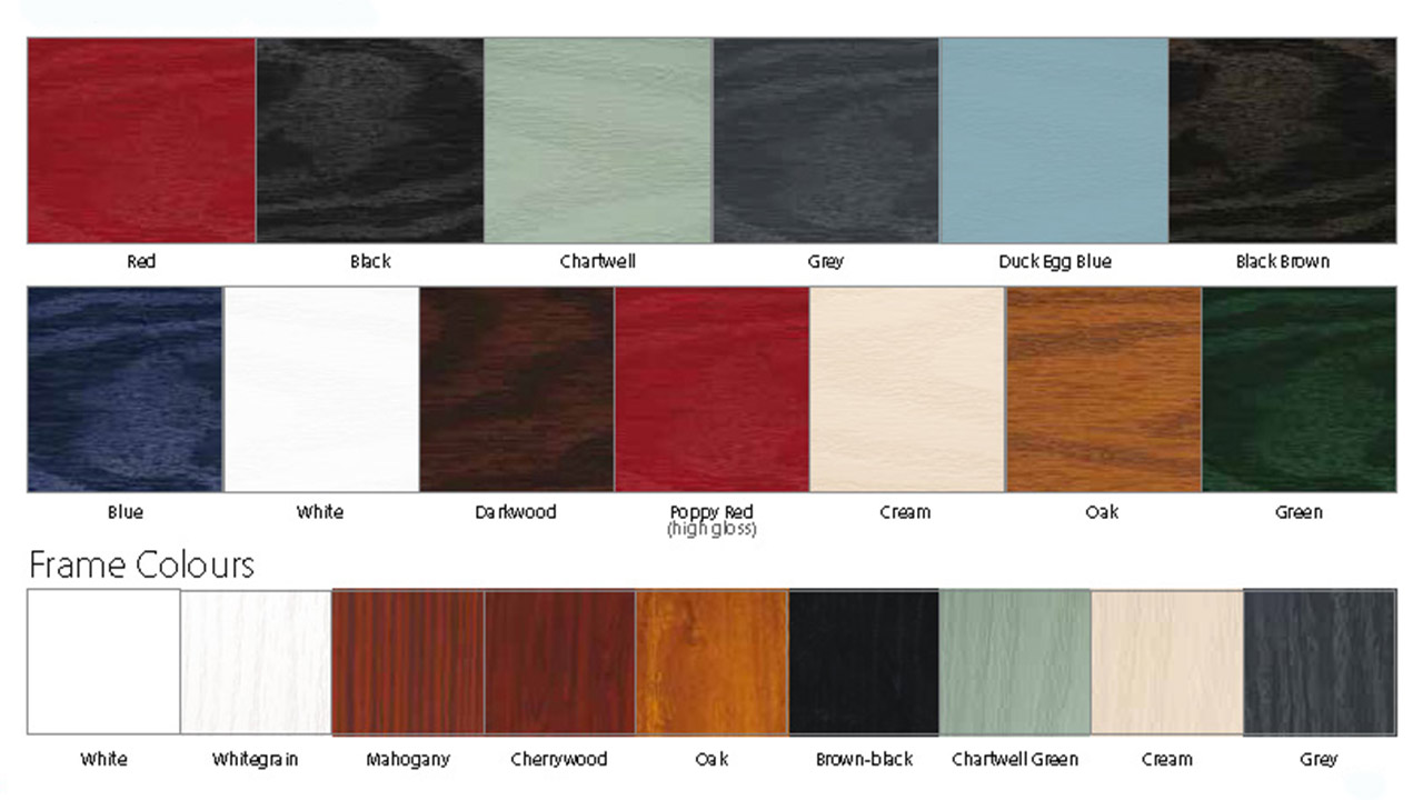 composite doors colours