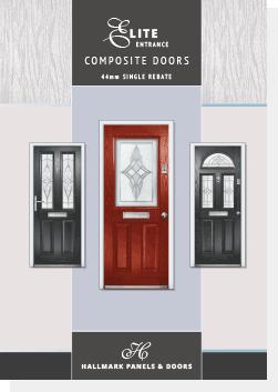 hallmark elite composite front doors